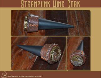 Steampunk Wine Cork by Dabstar