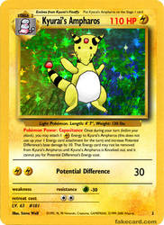 Kyurai's Ampharos by Fledylids