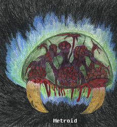Metroid, Colored by Fledylids