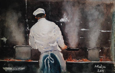 The chef by radjaa8585