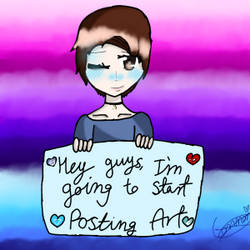Hello! I'm going to be posting my crappy art! by CassieTheAngelDemon1