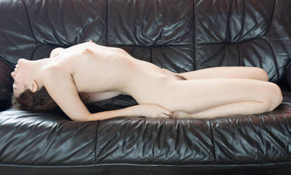 Couch Nude1 by AimeeStock