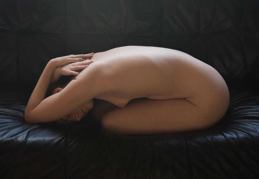 Couch Nude 8 by AimeeStock