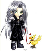 Sephiroth's pet by mystcloud