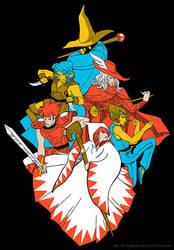 Orginal Warriors by mystcloud