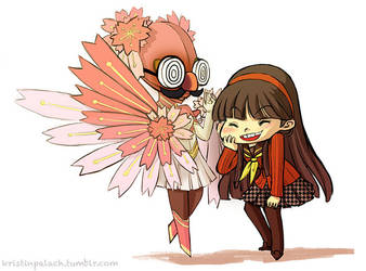 P4 Yukiko by mystcloud