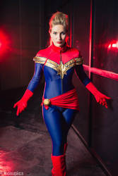 Captain Marvel #2 by Ellubre