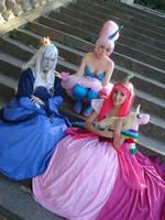 Princesses Time! by crispychickencosplay