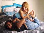 Naomi tickled by Danaya by pene4