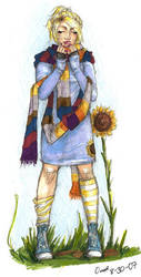 Rose with Four's Scarf by nogoodlum