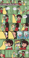 That Emotion Sickness scene Starco Style by WaRrior9100
