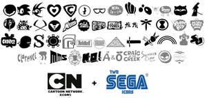 CN (+ Sega) universe Icons/Logos Update by WaRrior9100