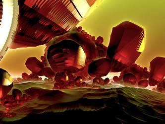On Mars by fractzxirus