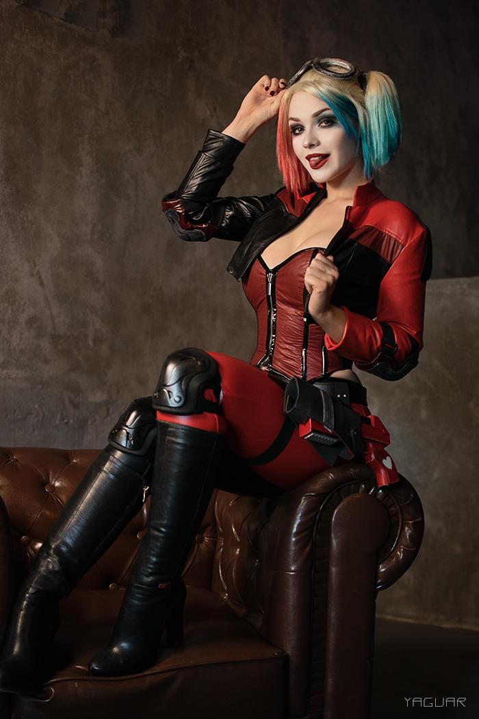 Harley quinn injustice 2 cosplay