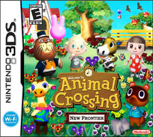 Animal Crossing 3DS Cover by chidori69