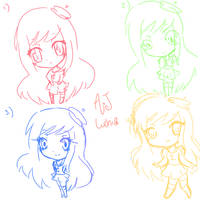 Help choose a new ChibiStyle by AmuletJoker