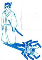 Samurai Jack by Wolf-fang4