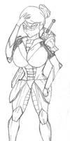 Human Deborah knight by Wolf-fang4