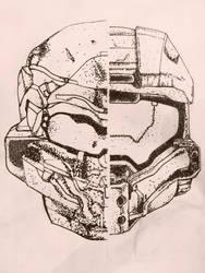 Halo 5 fan art by DorsalFynn