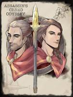 AssassinsCreedOdyssey by KUZUNUE