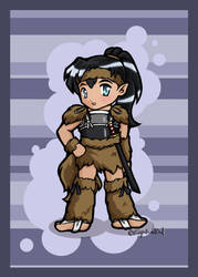 IY Chibi - Kouga by righteousred