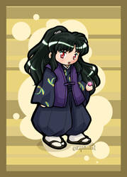 IY Chibi - Naraku by righteousred