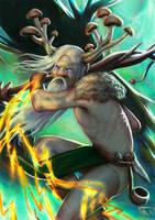 Adamir - Mushroom Druid by Nassima-Amir
