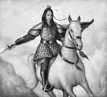 Akodo Kenburo - Legend of the Five Rings (WIP) by Nassima-Amir