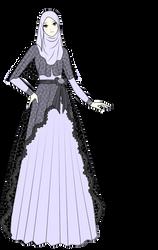 Muslim dress design by risqavoni