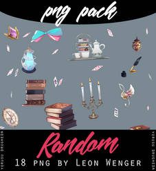 [Png Pack] Random objects by leon-wenger