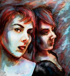 Self Portrait by iscalox