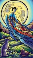 Tarot: The Moon by iscalox