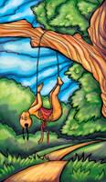 Tarot: Hanged by iscalox