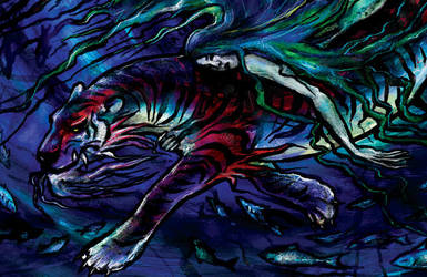 Sea Tiger detail by iscalox
