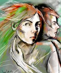 Self Portrait 2008 by iscalox