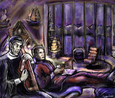 TOS: A Quiet Evening by iscalox