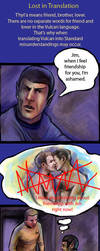 TOS Spirk: Vulcan Friendship by iscalox