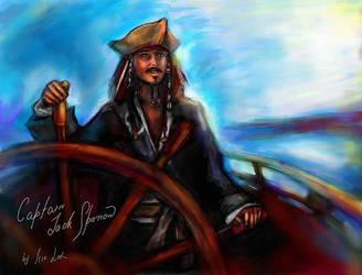 Captain Jack Sparrow by iscalox