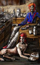 White Breakfast (David Bowie) by iscalox