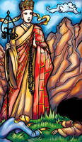 Tarot: The Pope by iscalox