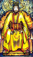 Tarot: The Emperor by iscalox