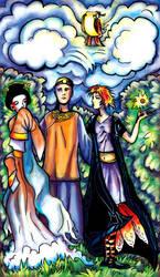 Tarot: Lovers by iscalox