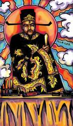 Tarot: Justice, Bao QingTian by iscalox