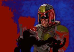 Judge Dredd by UltimateHurl