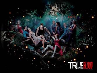 Wallpaper True Blood by shad-designs