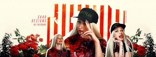 Profile Cover Iggy Azalea by shad-designs