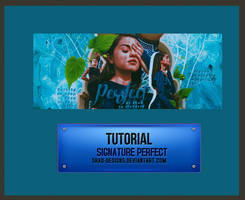 Tutorial Signature Perfect by shad-designs