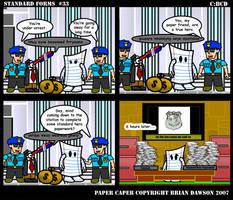 Paper Caper Comic 33 by papercaper