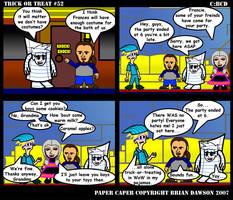Paper Caper Comic 52 by papercaper