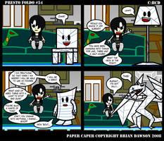 Paper Caper Comic 54 by papercaper